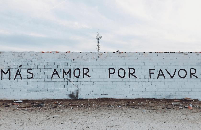 Amour sur les murs